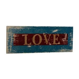 Cedule Love, 35x13 cm