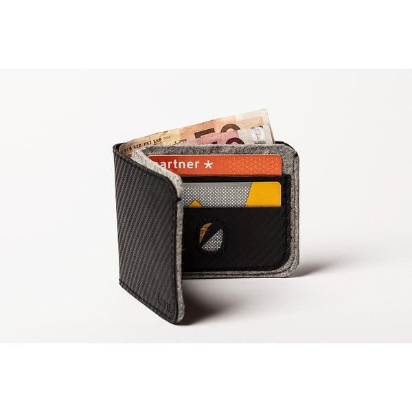 Pánská peněženka z pravé kůže Éstie, světle šedá