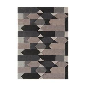 Šedý koberec  Asiatic Carpets Harlequin Mindful, 300 x 200 cm