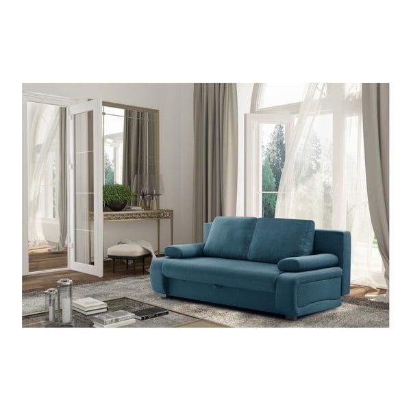Canapea extensibilă Interieur De Famille Paris Bonheur, turcoaz