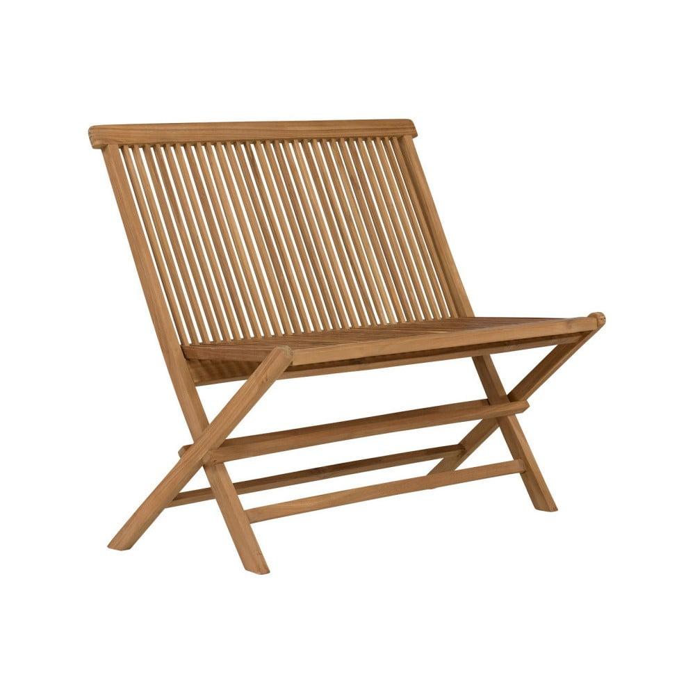Zahradní lavice z teakového dřeva SOB Lable