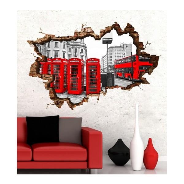Autocolant de perete 3D Art Annelies, 135 x 90 cm
