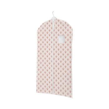 Husă de protecție pentru haine de agățat Compactor Blush Range, 60 x 100 cm imagine