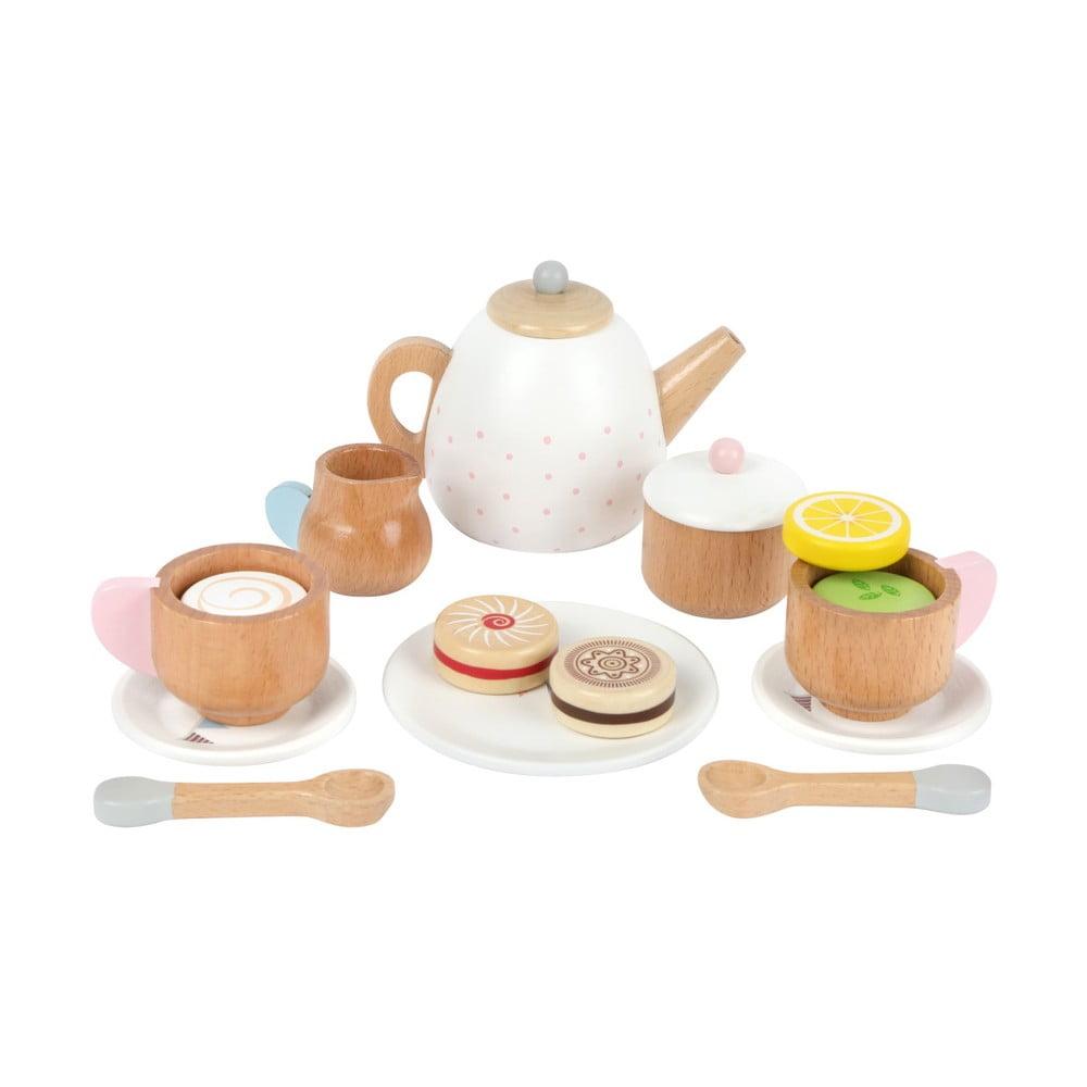 Dětský dřevěný čajový set Legler Tea Legler