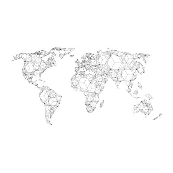 Velkoformátová tapeta Artgeist Geometry World, 300x231cm