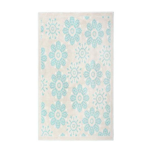 Floorist Randa kék gyapotszőnyeg, 120 x 180 cm