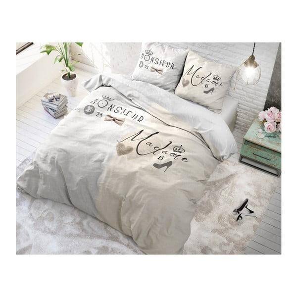 Bavlněné povlečení na dvoulůžko Sleeptime French, 200 x 220 cm
