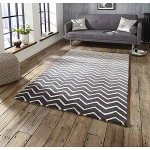 Šedo-bílý ručně tkaný koberec Think Rugs Spectrum Grey White, 120x170cm