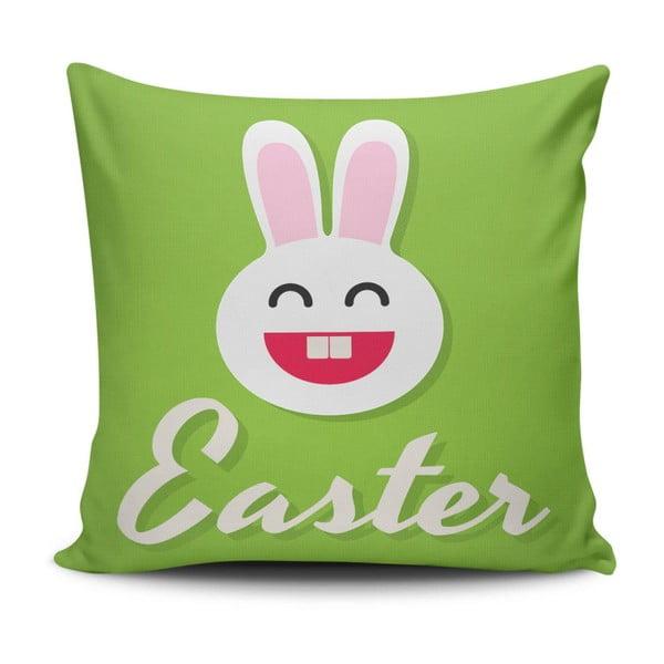 Pernă Easter Bunny, 45 x 45 cm, cu umplutură
