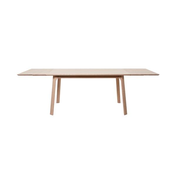 Prídavná doska na jedálenský stôl z bieleho dubového dreva Unique Furniture Vivara
