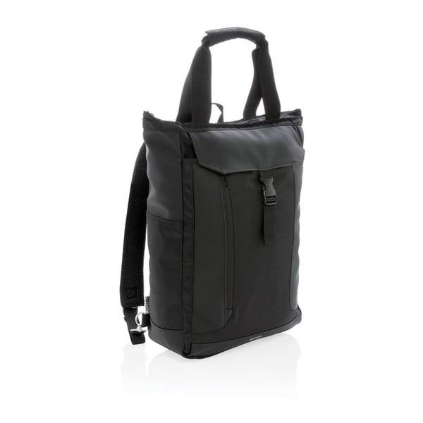 """Fekete hátizsák 15"""" laptophoz, 16 l - Swiss Peak"""