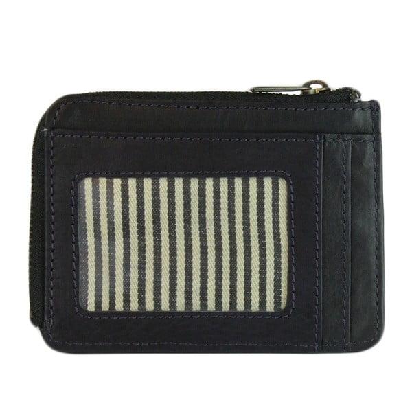 Kožená peněženka O My Bag Zip Coin Midnight Black