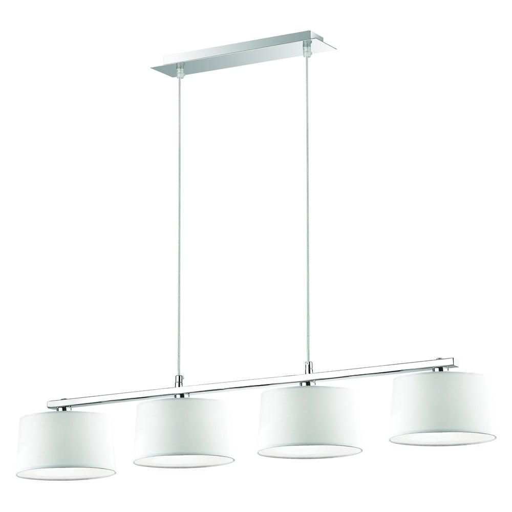 Bílé závěsné svítidlo Evergreen Lights Elegant