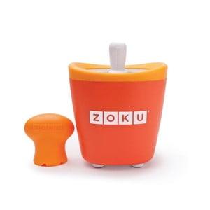 Oranžová forma na nanuk ZOKU Popsicle