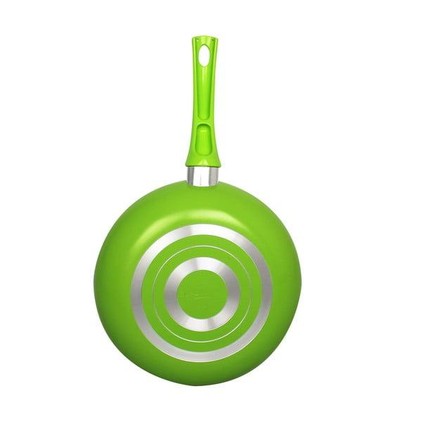 Pánvička, 14 cm, zelená