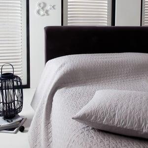 Přehoz přes postel Shape Silver, 220x270 cm