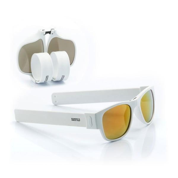 Bílo-žluté sluneční srolovatelné brýle InnovaGoods Sunfold ES6