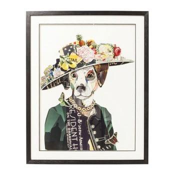 Tablou Kare Design Art Lady Dog, 72 x 90 cm de la Kare Design