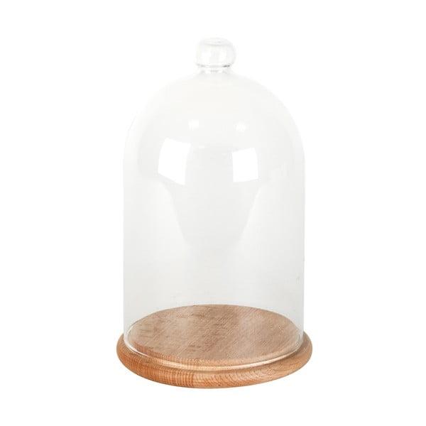 Skleněný poklop s podnosem ComingB Cloche, 12 cm