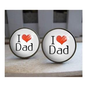 Sada 2 manžetových knoflíčků Butoni de Camasa I Love Dad