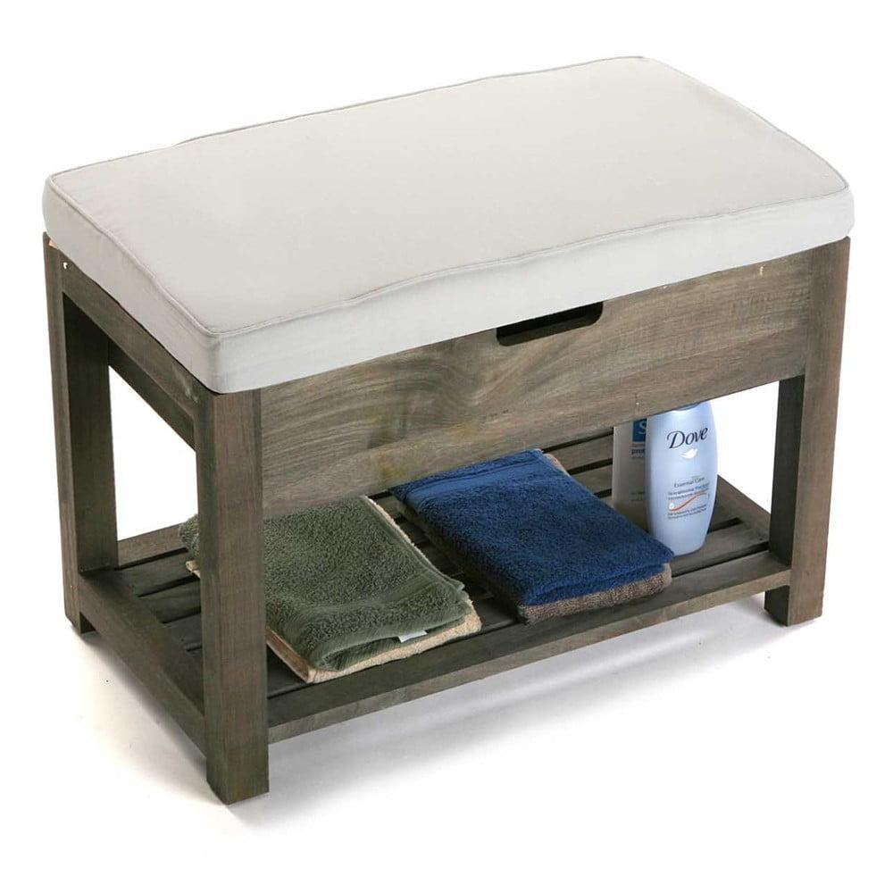 Dřevěná lavice s úložným prostorem Versa Cabinet