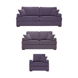 Set 3 piese Jalouse Maison Irina, violet