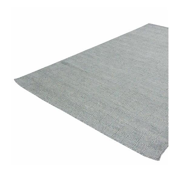 Ručně tkaný koberec Kilim Dimond Azure, 160x230 cm