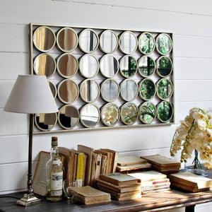 Zrcadlo Gold Circles