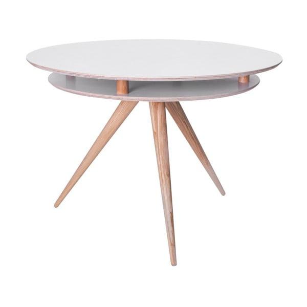 Bílý jídelní stůl Ragaba Triad
