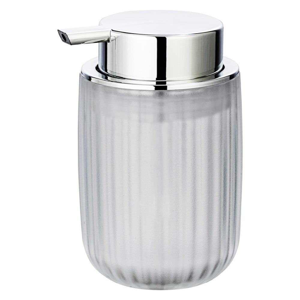 Produktové foto Mléčně bílý dávkovač mýdla Wenko Agropoli Frost, 250ml