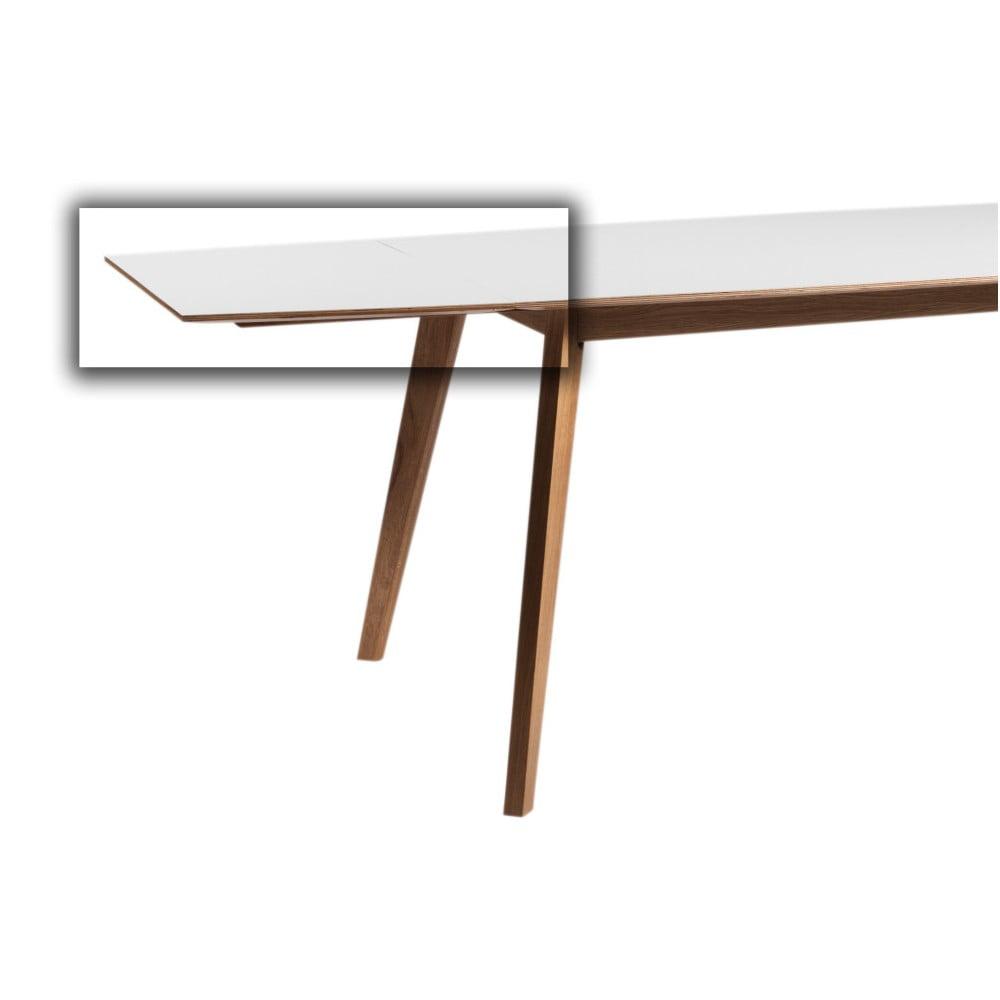 Bílá přídavná deska k jídelnímu stolu Folke Ehcidna