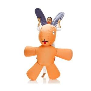 Fatboy dvoumetrový obří zajíc na válení, oranžový
