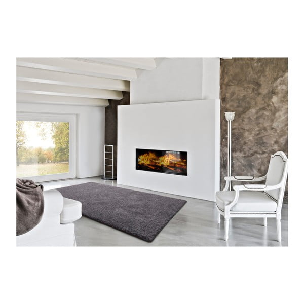 Tmavě šedý koberec Universal Thais, 133x190cm