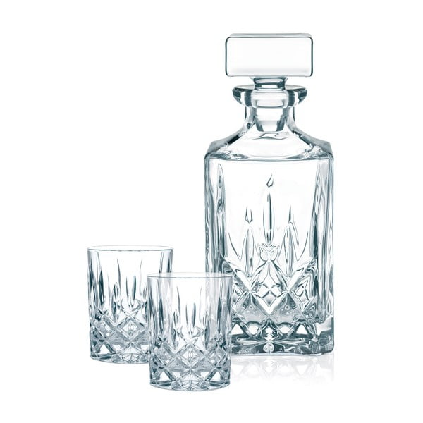 Komplet do whisky ze szkła kryształowego Nachtmann Noblesse Whisky Komplet