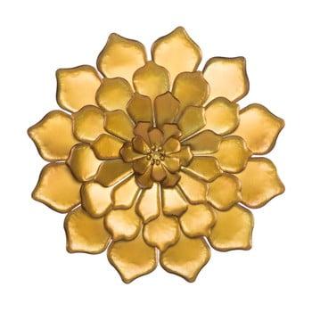 Decorațiune de perete Mauro Ferretti Goldie, ø 62,5 cm, auriu imagine