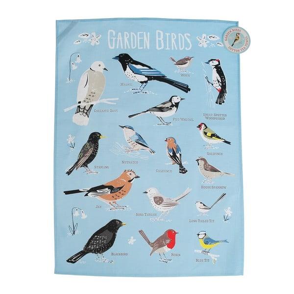 Garden Birds pamut konyharuha - Rex London