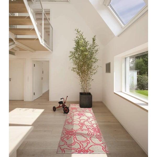 Vysoce odolný oboustranný koberec Flou V3, 60x200 cm