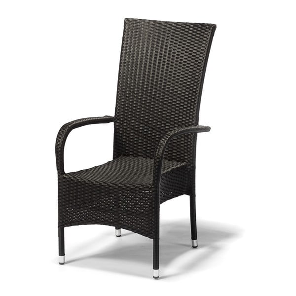 Frenchie antracitszürke kerti szék, magasság 107 cm - Timpana