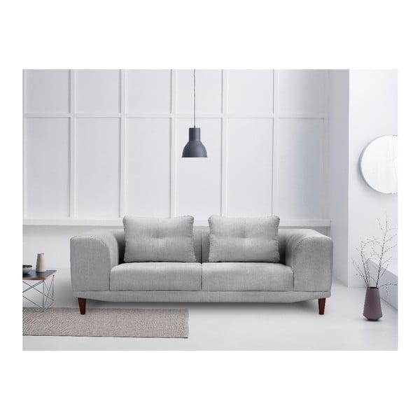 Světle šedá trojmístná pohovka Windsor & Co Sofas Sigma