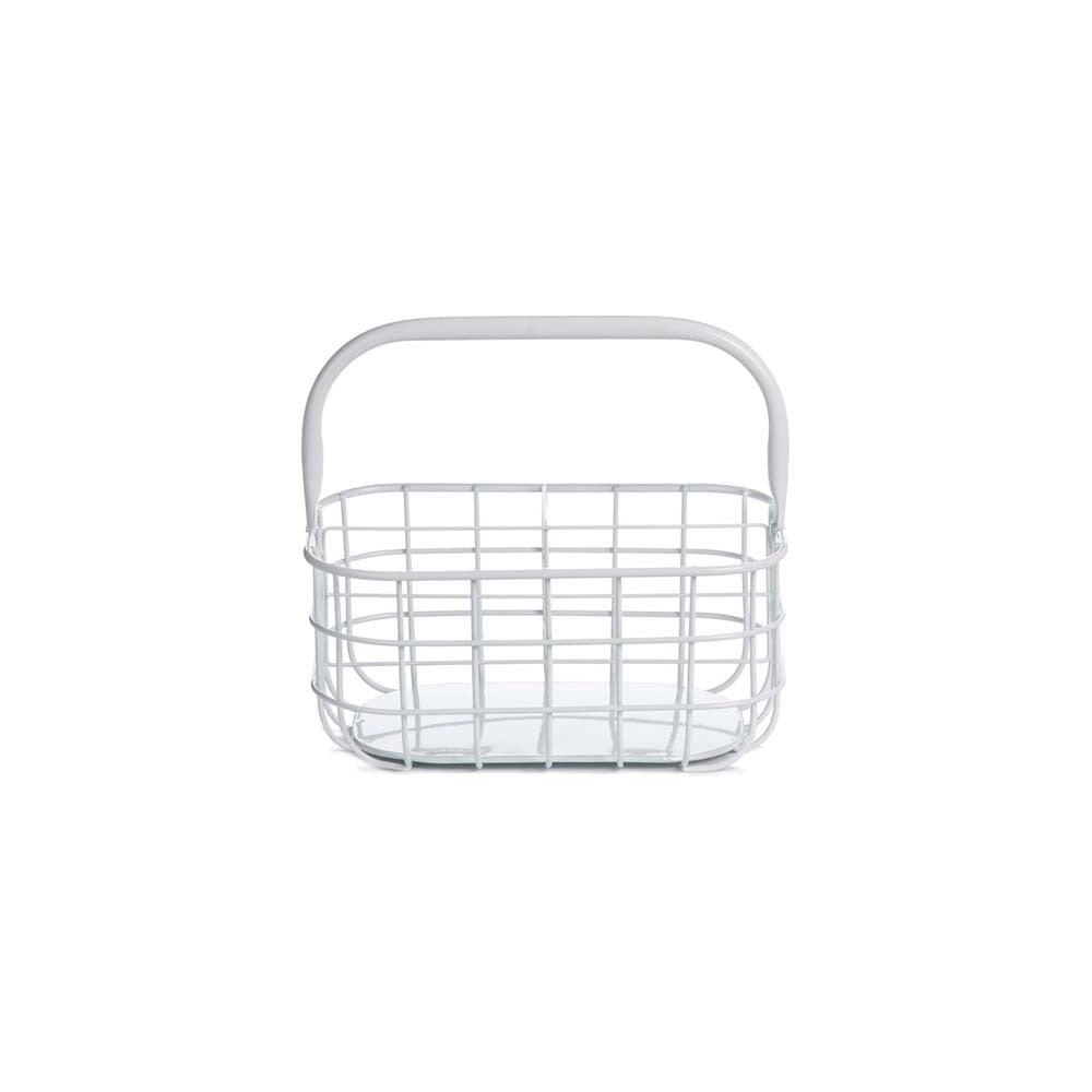 Košík do koupelny Design Ideas White