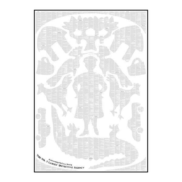 Knižní plakát Vůně Kalahari, 70x100 cm