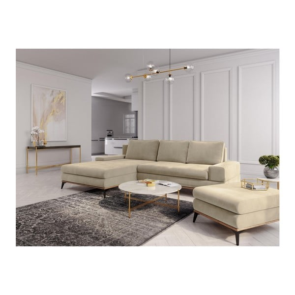 Puf Windsor & Co Sofas Planet, bej