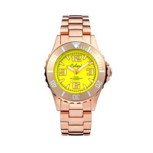 Hodinky Colori 33 Rose Yellow Colour