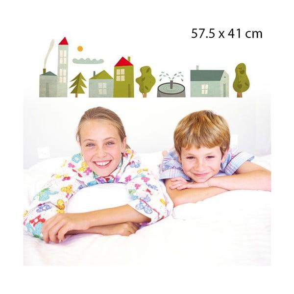 Samolepka Village, 57x41 cm