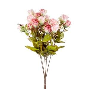 Pugét umělých růžových růží The Mia Fiorina