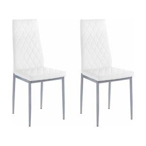 Set 2 scaune Støraa Barak, alb