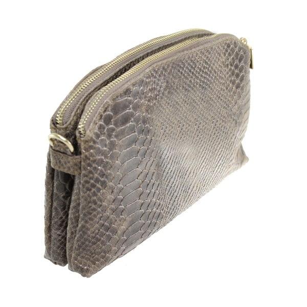 Kožená kabelka Silvia Fango