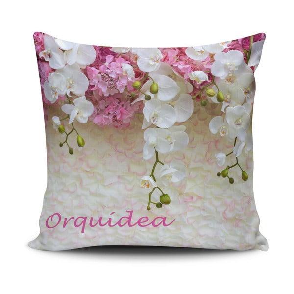 Povlak na polštář s příměsí bavlny Cushion Love Gassa, 45 x 45 cm
