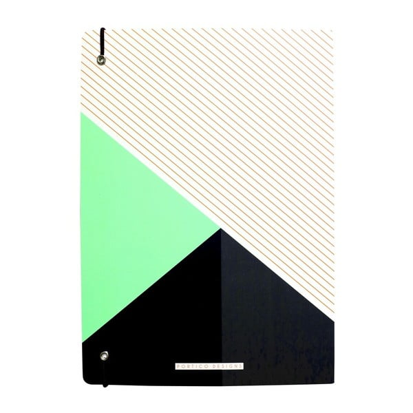 Zápisník A4 Portico Designs Colour Block, 160 strán
