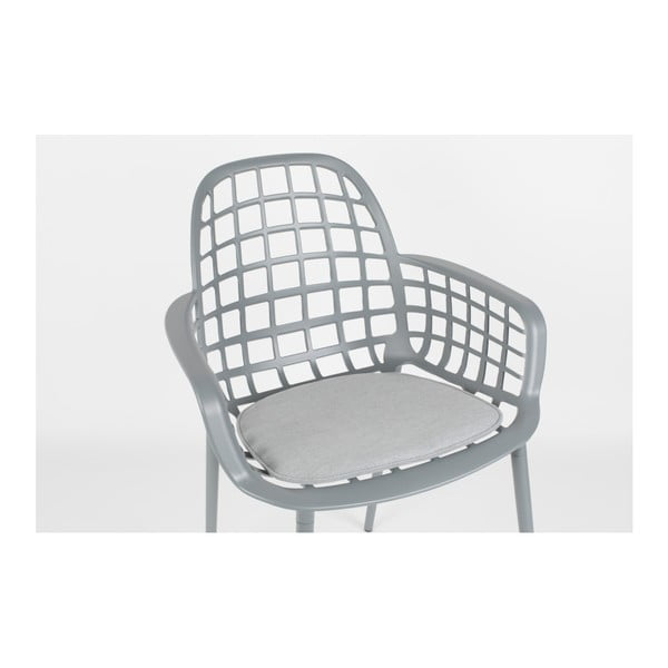 Pernă scaun Zuiver Albert Kuip, gri deschis